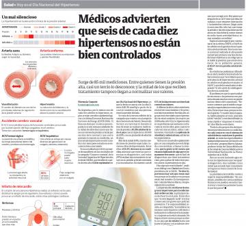 Designan el 14 de septiembre como el 'Día del Hipertenso' y presentan los resultados de un relevamiento con casi 100 mil argentinos