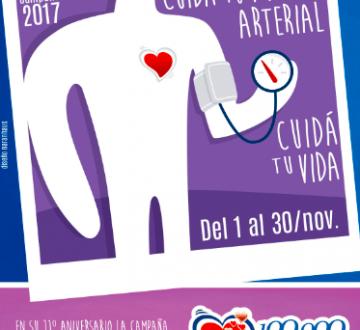 Actividades en distintos puntos de la Argentina para concientizar sobre Hipertensión Arterial