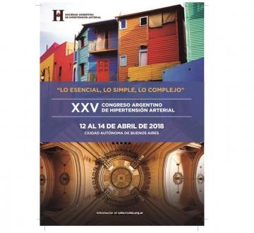 Se viene el XXV Congreso Argentino de Hipertensión Arterial