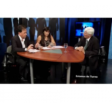 """Entrevista realizada en el programa """"Estamos de Turno"""" al Dr. Marcos Marín acerca de la Hipertensión Arterial"""